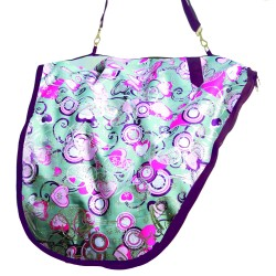 Bambino Saddle Carry Bag Silver/Purple